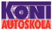 KONI, Autoskola Rīgā, Jūrmalā, Ogrē, A-B-C-D-95 kategorijas autovadītāja kursi Logo